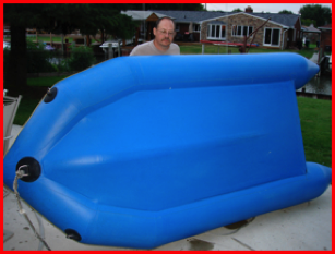ISLAND GIRL® System for care and rejuvenation of inflatable